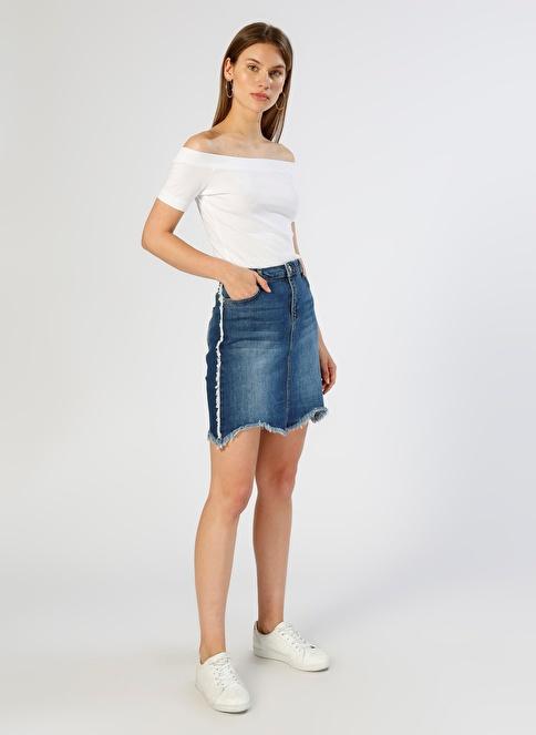 T-Box Mini Jean Etek İndigo
